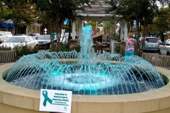 Market Square fountain in TEAL Myrtle Beach 2015