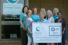 World Ovarian Cancer Day-PASS gallery-0003 group with banner